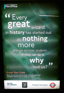 Every great wizard in history has started out as nothing more than we are now; students. If they can do it, why not us?
