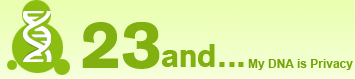Logo used by 23and.Me