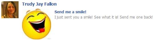 Send me a smile @ Facebook