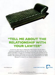 DLA PIPER full-page ad